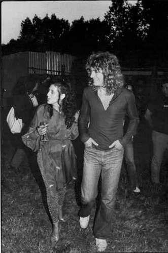 Robert Plant Wife Maureen Wilson Maureen wilson robert plant