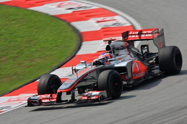 Jenson Button- Vodafone Mclaren Mercedes Lewis Hamilton, Malaysia 2012 2012 Formula 1 Malaysian Grand Prix.
