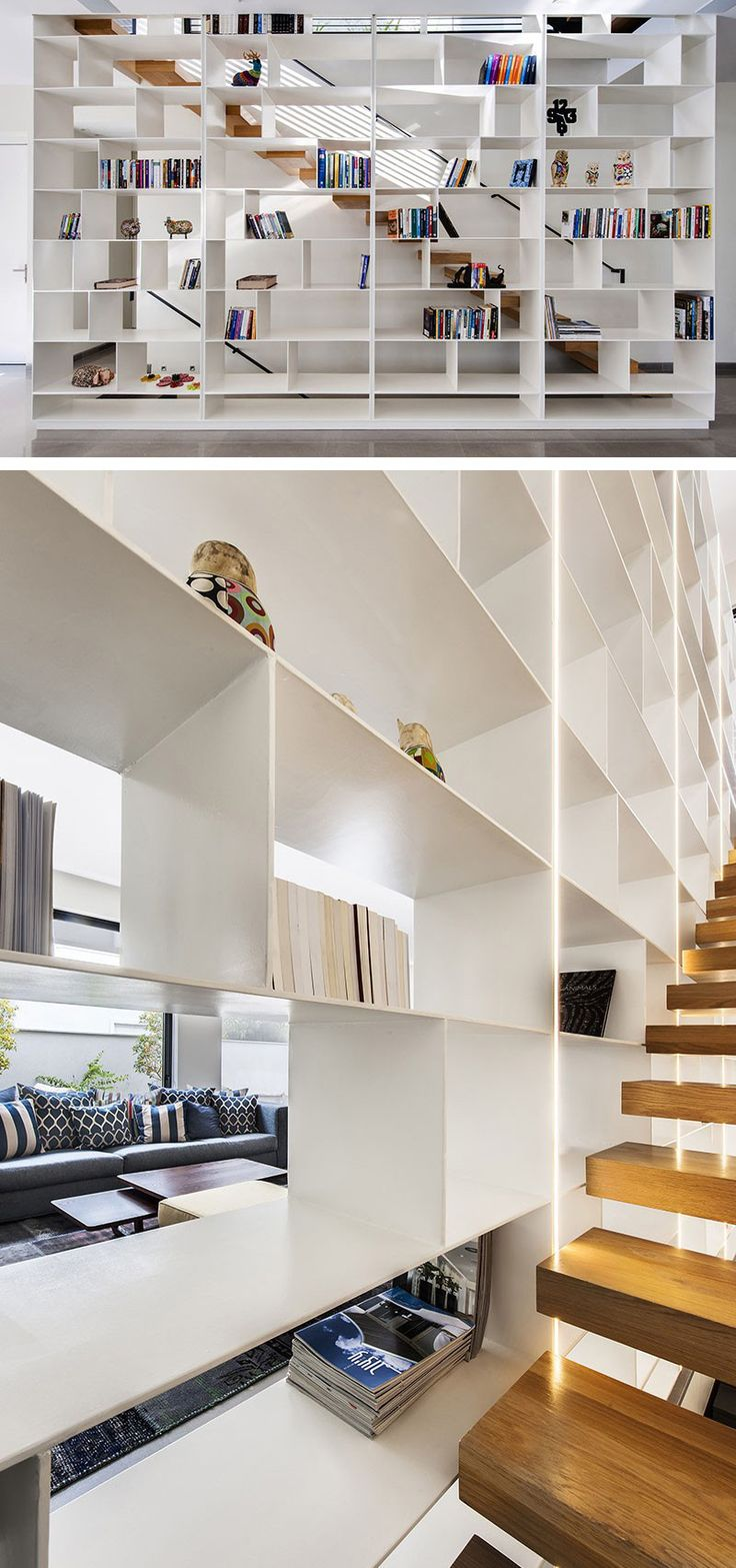 DESIGN TIP // Let The Light In With A Wall Of Shelves