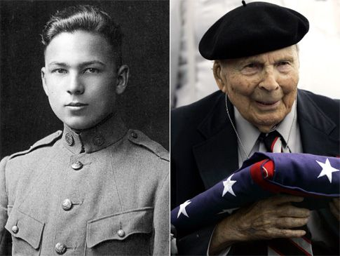 Frank Woodruff Buckles (Feb. 1, 1901 – Feb. 27, 2011) was one of the last three surviving World War I veterans in the world, and was the last living American veteran of the war.