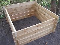 No nail compost bin