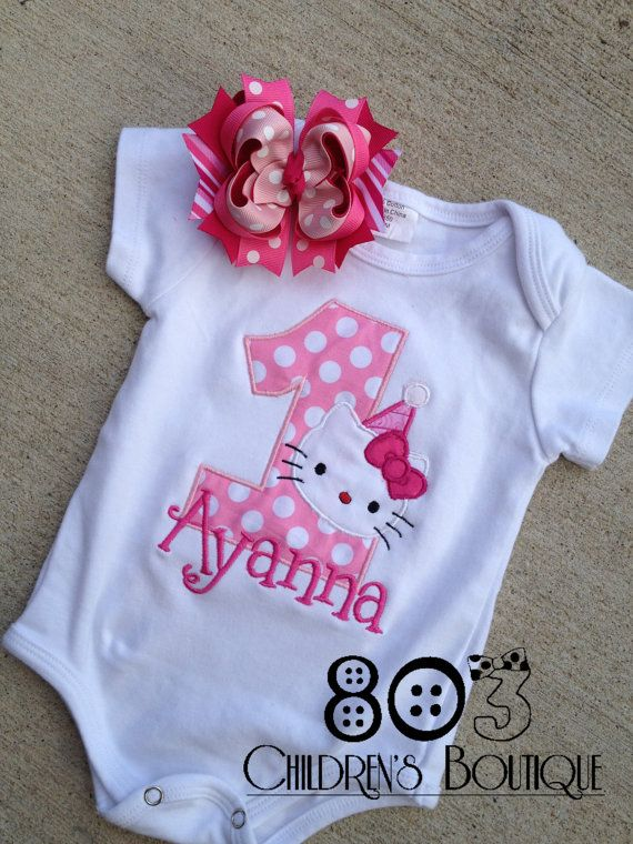 Custom Hello Kitty First Birthday Boutique By
