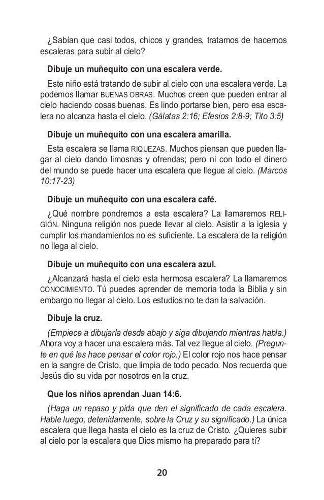 Manual Escuela Biblica De Verano El Nino El Amor Espíritu Santo