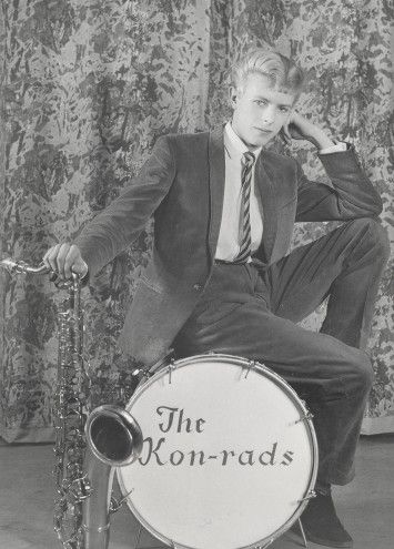 Promotional shoot for The Kon-rads, 1963, Photograph by Roy Ainsworth Courtesy of The David Bowie Archive 2012 Image © V&A Images