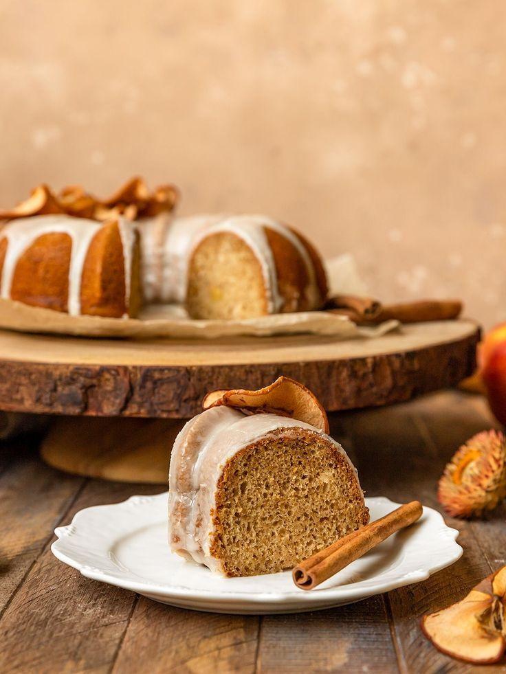 Vegan Apple Cider Bundt Cake Video Shortgirltallorder In 2020 Vegan Apple Cake Vegan Dessert Recipes Homemade Cakes
