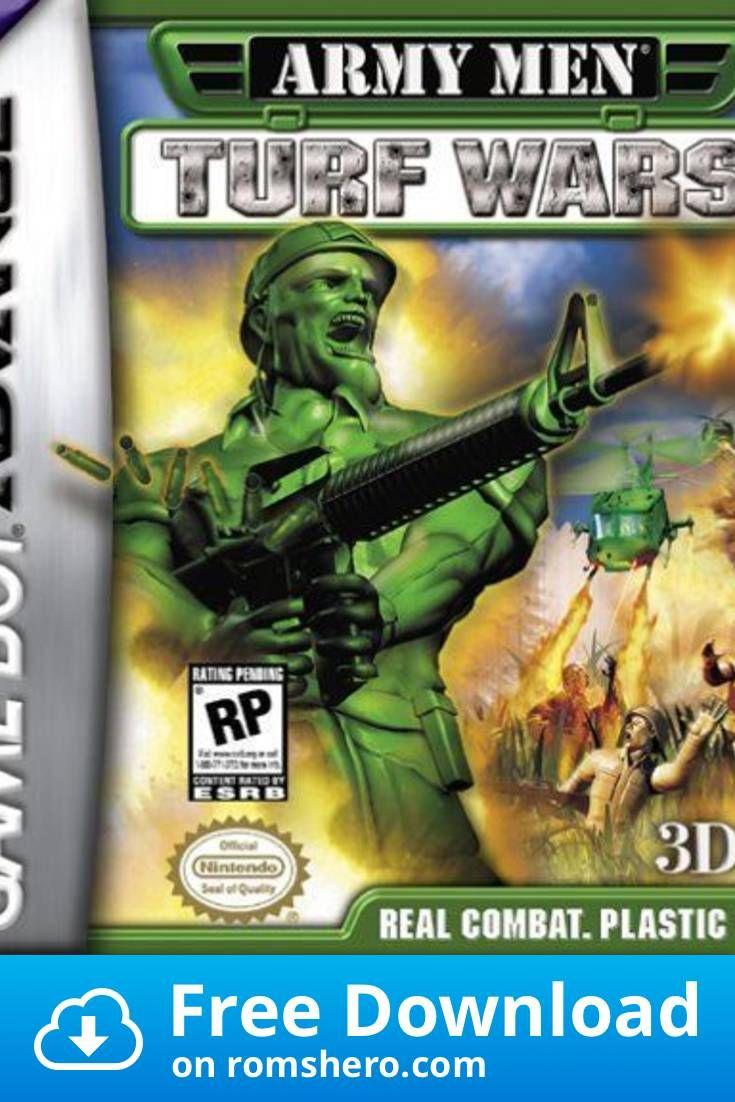 Download Army Men Advance 2 Turf Wars Gba Gameboy Advance Gba Rom In 2020 Army Men Gameboy Gameboy Advance
