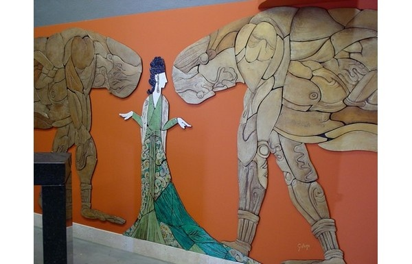 G. Vega, cerámica artística. Avda. Gustavo Adolfo Bécquer, 54. Pol. Ind. Nueva Andalucía. 29660, Marbella, Málaga. Tel.: 952 816 848