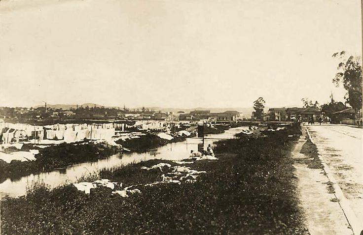 1900 - Rua Santa Rosa, bairro do Brás.