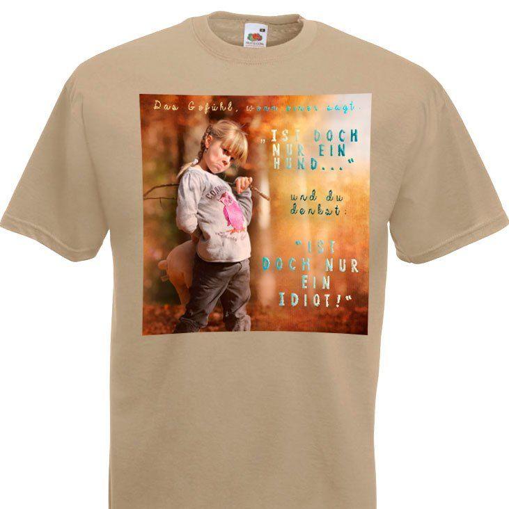 Hunde T-Shirt Nur ein Hund
