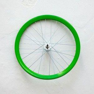 Letra O Rueda verde / GRANDE CR