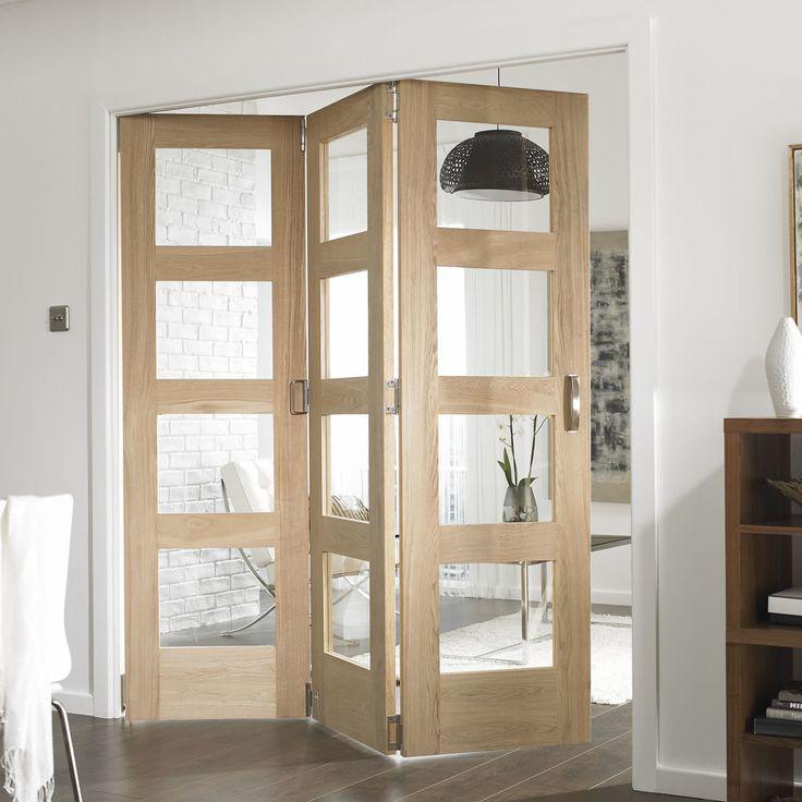 M s de 25 ideas incre bles sobre puertas plegables en - Como colocar puertas correderas ...