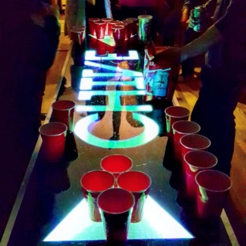 how to make a custom beer pong table