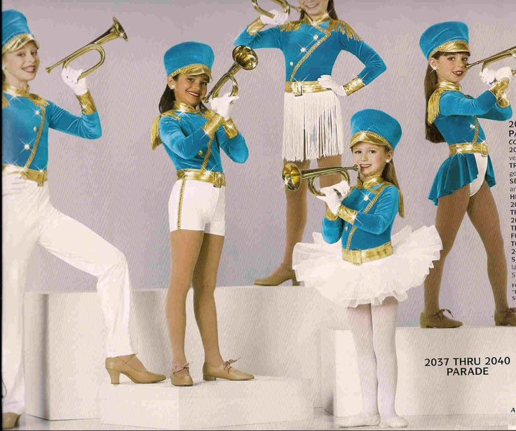 Parade 2037 Pageant Outfit band jazz tap christmas competition dance costume in Clothing, Shoes & Accessories | eBay