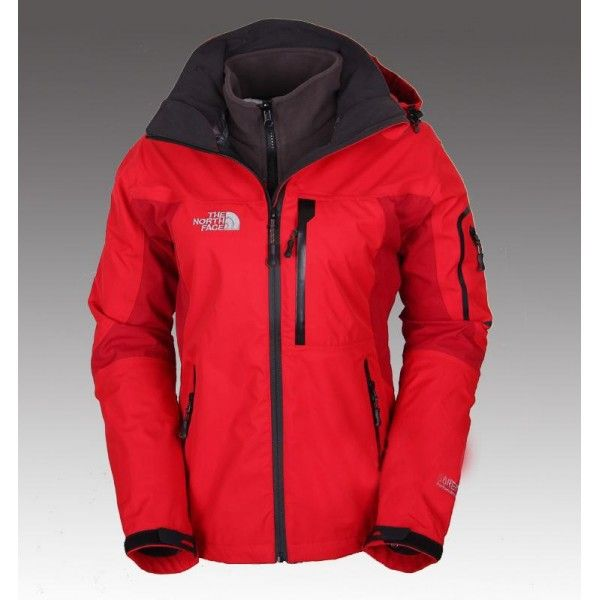 The North Face Women's Gore-Tex 3 in 1 Triclimate Jacket Red