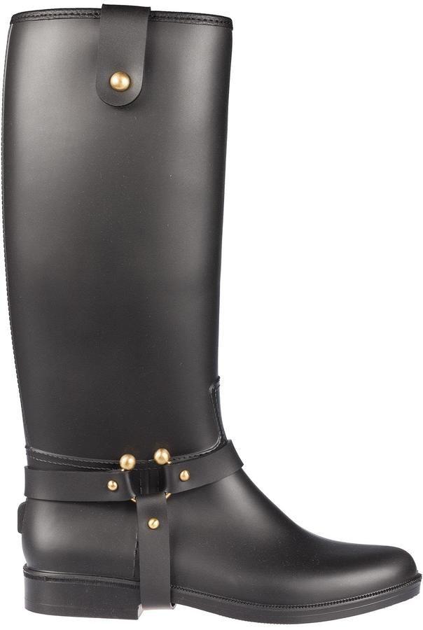 RED Valentino Classic Rain Boots
