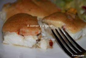 Un plato de pescado y horno de las buenas y fáciles de verdad.  Tan rápida que casi se hace mientras pones la mesa.... Utiliza unas ga...