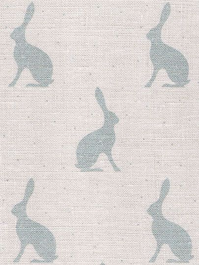 Mini Hares ~ Duck Egg Blue £43.95 - Peony & Sage