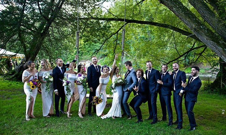 Exclusive: Mike Holmes Jr. and Lisa Grant's enchanting outdoor wedding