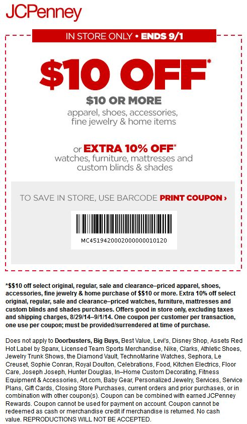 Jcpenney coupons app