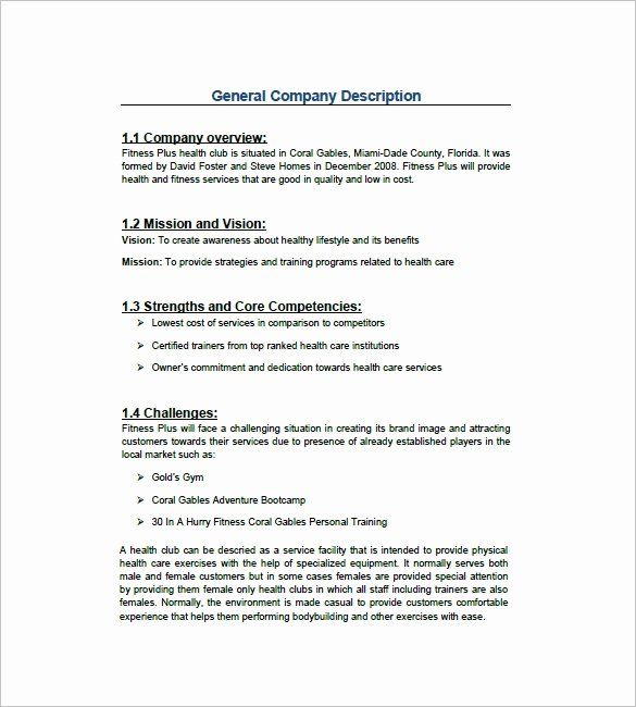 Personal Training Business Plan Template New Gym Business Plan Template 13 Free Sample Example In 2021 Fitness Business Plan Business Plan Template Gym Business Plan