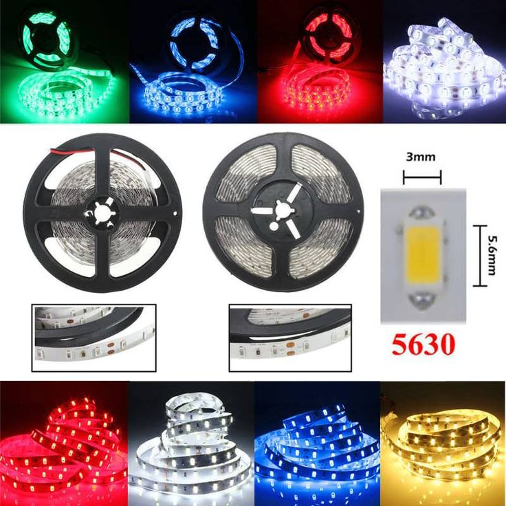 1M 60LEDS SMD 5630 Flexible LED Strip Home Decoration Counter Light Waterproof DC 12V  Worldwide delivery. Original best quality product for 70% of it's real price. Buying this product is extra profitable, because we have good production source. 1 day products dispatch from warehouse. Fast...
