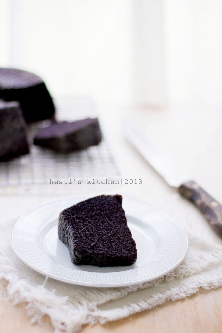 HESTI'S KITCHEN : yummy for your tummy: Bolu Kukus Ketan Hitam