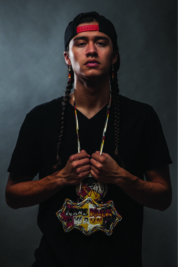 Frank Waln, Sicangu Lakota, is a hip-hop artist and environmental activist. In 2014, he was the subject of the MTV series Rebel Music for its episode on Native American musicians who use music to raise awareness about issues plaguing Indian country. A recipient of the 40 Under 40 Award by the National Center for American Indian Enterprise Development, Waln tours the country performing his music and evangelizing for the rights of indigenous peoples, proclaiming that they are the stewards of…