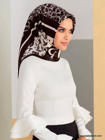 Armine Ashland Silk Hijab - 1