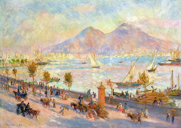 """Renoir, 1881. """"La Baia di Napoli"""".                                                                                                                                                                                 More"""