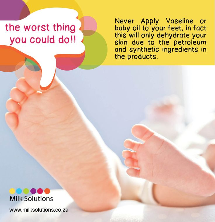 Vaseline www.milksolutions.co.za www.facebook.com/MilkSolutionsSA The Worst Thing You Could Do