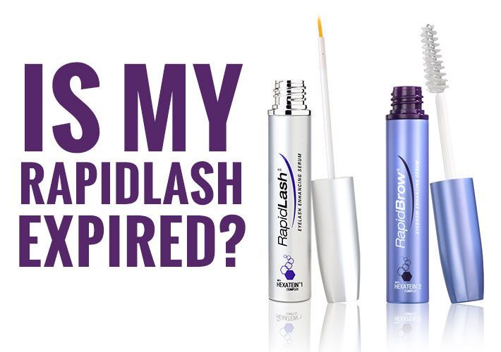 Your RapidLash probably isn't expired, but this is how to tell how long it stays fresh. #RapidLash #GetMyLashesBack