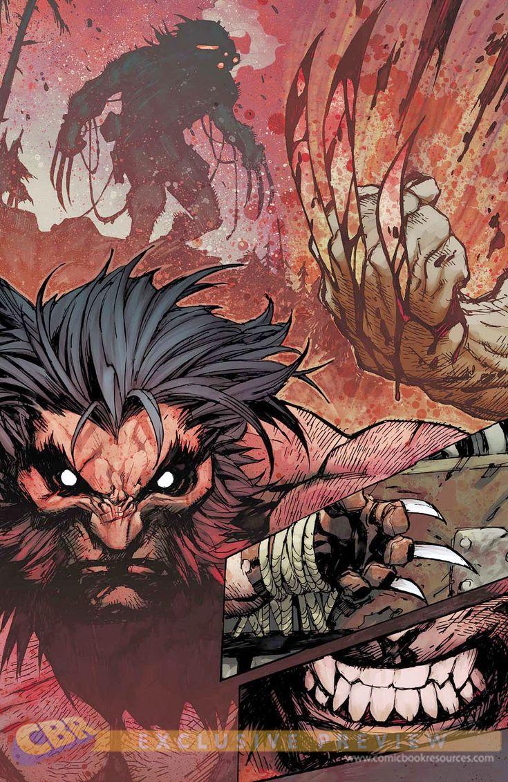 Joe Madureira ! Fansite: Savage Wolverine #8 Pages