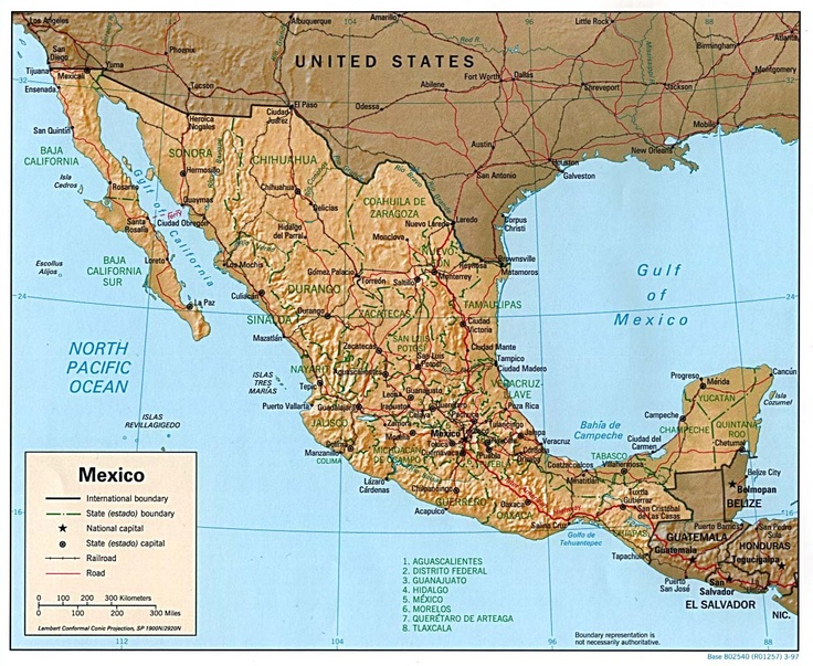 17.Mexico's size is 756,066 square miles, which is almost three ...