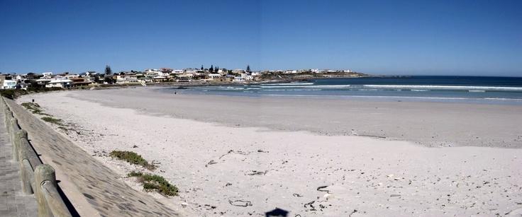 The Blue Flag beach at Yzerfontein