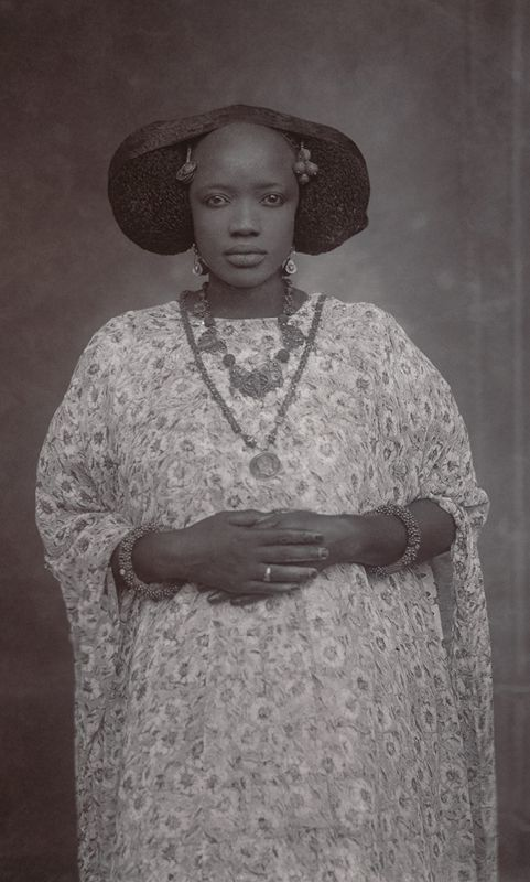 Unknown Artist (Senegal). Portrait of a Woman, ca. 1910. Gelatin silver print from glass negative, 1975; 6 x 4 in. (16.5 x 11.4 cm). The Metropolitan Museum of Art, New York, Gift of Susan Mullin Vogel, 2015