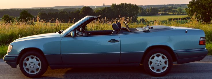 Mercedes W124 Cabrio in Billerbeck - Münsterland.