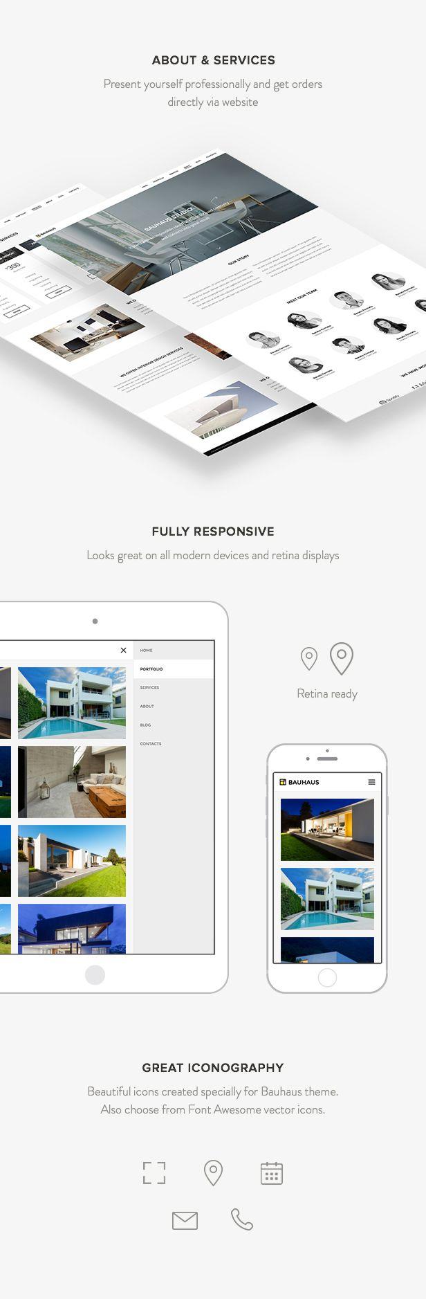 Bauhaus - Architecture & Portfolio WordPress Theme by HighSea | ThemeForest