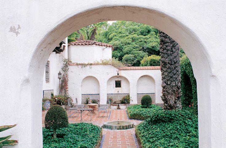 Casa del Herrero (1925) is a Spanish-style vision, complete with a Moorish garden. (Photo: Alex McLean)