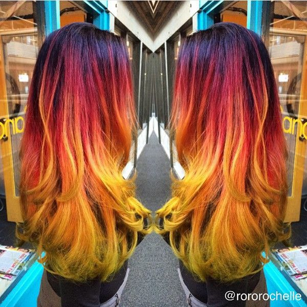 210 best fire ombre phoenix hair images on pinterest hairstyles 210 best fire ombre phoenix hair images on pinterest hairstyles dyed hair and hair pmusecretfo Images