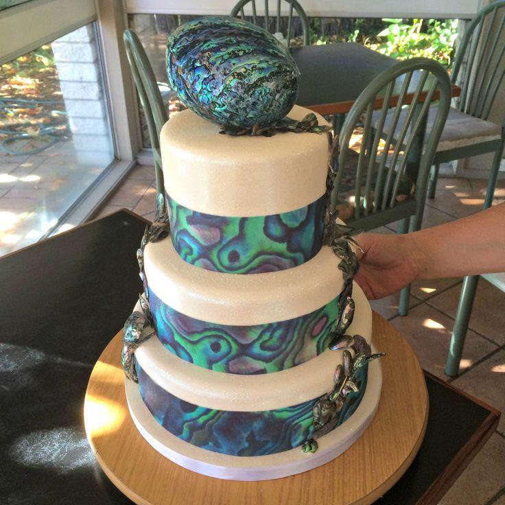 Paua Shell Cake