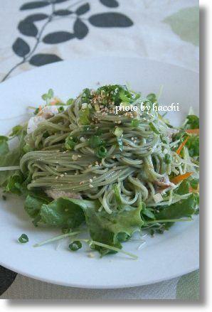 茶そばサラダ by ハッチさん | レシピブログ - 料理ブログのレシピ満載!