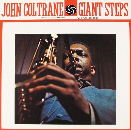 John Coltrane- Giant Steps - Atlantic 1311 [12-inch LP]