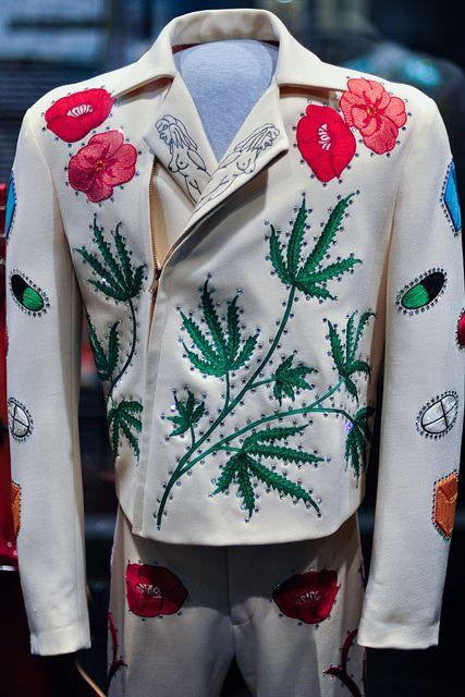 Gram Parsons' suit (front)   Flickr