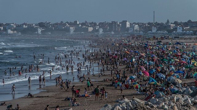 Mar del Plata Beach Punta Mogotes