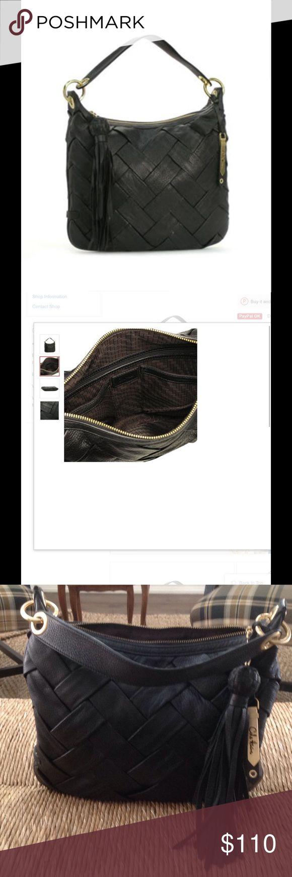 Cole Haan shoulder bag/B26902 small Hobo prudence Black leather hobo shoulder bag like brand new. Cole Haan Bags Hobos