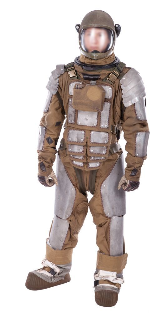 Firefly TV series - the suit from Soldier with different helmet and some finessing