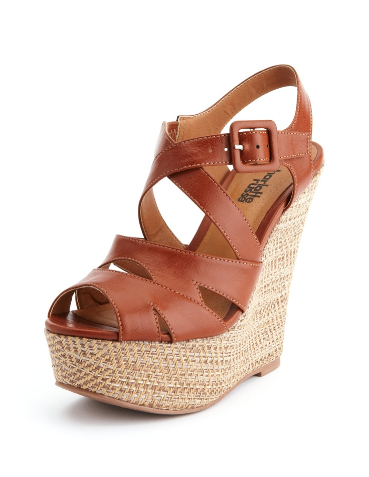 Our variety of cute wedges come in delightful designs with distinguishing details that add excitement to any ordinary outfit. Wear a retro-style shirtdress with a charming pair of lace-up wedges with chic cutouts or a flirty floral print.