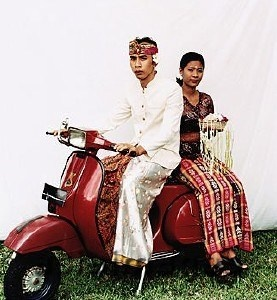 Vespa & weddings   Indonesia  image from: AsiaImages  photo by: Martin Westlake