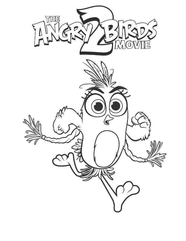 Printable Angry Birds Movie 2 Coloring Pages For Kids Coloring