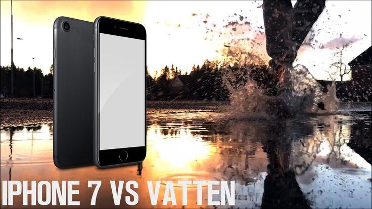 Kör på min IPhone 7 i vatten